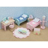Daisylane Doll House Children's Bedroom Set
