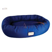 Dog Bed in Navy Blue