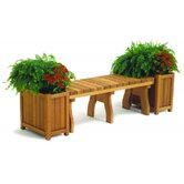 Redwood Rectangular Planters