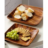 Acacia 35cm Wood Serving Dish
