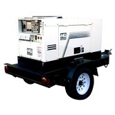 400 DC Welder CC / CV, 14KW Generator Mounted on TRLRMP with 30 gallons fuel cell