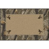 Realtree Hardwoods Solid Center Novelty Rug
