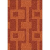 Modern Times Uptown Fall Orange Rug
