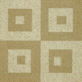 Legato Fuse Block Carpet Tile in Casual Cr&egrave;me