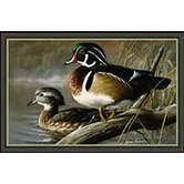 Hautman October Woodies Duck Mat