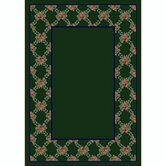 Design Center Rose Bower Emerald Rug