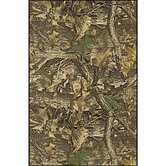 Realtree Timber Solid Camo Novelty Rug