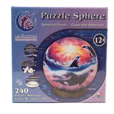 Orca Sunset 240 Piece Jigsaw Puzzle