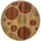 Generations Tan Circles Rug