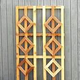Wide Cedar Trellis