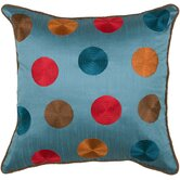 T-3576 18&quot; Decorative Pillow in Peacock Blue