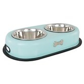 Double Dog Bowl in Blue