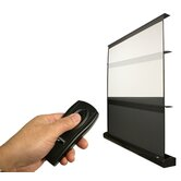 "MaxWhite Kestrel Series Floor Electric Projection Screen - (4:3) - 84"" Diagonal"