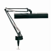 Solare  Reading Lamp with Clamp in Black