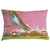 "Nesting 13"" x 20"" Cotton Pillow in Pink"