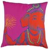 "Bazaar 22"" x 22"" Pillow in Fuchsia"