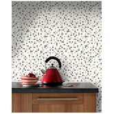 Checker Black and White Wallpaper by Contour