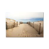 Walk To The Beach Printed Canvas Art - 24&quot; X 32&quot;