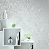 Paintable Pure Wallpaper in White