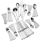 Pantheon 46 Piece Dinner Flatware Set