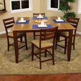 Andria 5 Piece Counter Height Dining Set