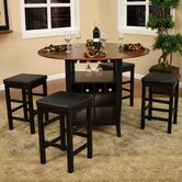Somerset 5 Piece Counter Height Dining Set