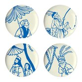 Hong Kong Dessert Plate (Set of 4)