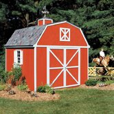 Premier Series Berkley Wood Storage Shed