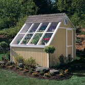 Phoenix Solar Wood Garden Shed