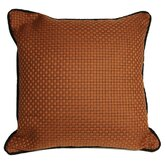 Basket Weaved Accent Pillow