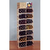 Country Pine Bin 168 Bottle Wine Rack
