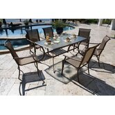 Chub Cay Patio 7 Piece Dining Set