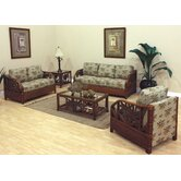 Cancun Palm 5 Piece Living Room Set