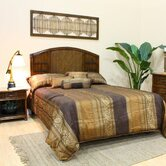 Polynesian 4 Piece Headboard Bedroom Collection