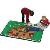Religious Noah's Ark Kids Rug