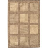 Recife Summit/NaturalCocoa Square Rug