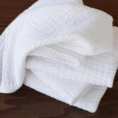 Ruched Muslin Burp Cloth (Set of 4)