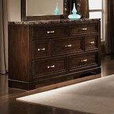 Bella 7 Drawer Dresser