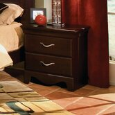 City Crossing 2 Drawer Nightstand