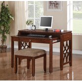 Woodmont Computer Desk / Entertainment Combo