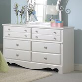 Spring Rose 6-Drawer Dresser