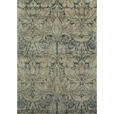 Arabesque Floral Teal Rug