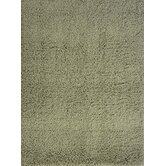 Comfort Shag Olive Green Rug