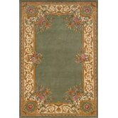Harmony Sage Floral Rug