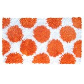 Polkamania Orange/White Kids Rug