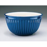 Ribbed Bowl in Cobalt (Set of 3)