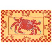 Accents Kitchen Crab Boil Novelty Rug