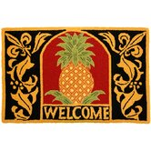 Accents Kitchen Welcome Pineapple Accent Rug
