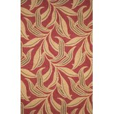 Ravella Red Leaf Rug
