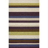 Ravella Stripe Purple Indoor / Outdoor Rug